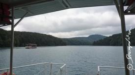Farht mit dem Boot