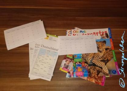 Material DIY-Kalender